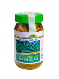 Paicho Green Chilly Pickle 400g