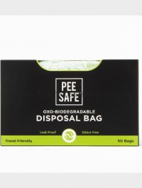 PeeSafe Oxo Biodegradable Disposable Bags – Pack of 50 Bags