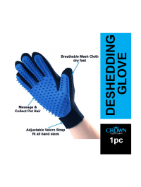 Pet Hair Remover Gloves Gentle Cat Dog Grooming Glove Brush