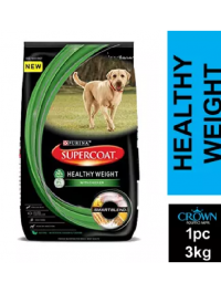 Purina Supercoat Healthy Weight With Chicken Dog Food 3kg
