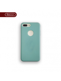 Recci Design  Genuine Soft Silicone With Fur Phone Case/Cover For Iphone-6,6s,7,8