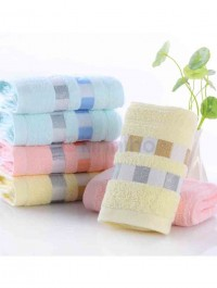 Set Of 4 Soft Cotton Face Towel For Adults Absorbent Terry Luxury Hand Face Sheet Adult Men Women Basic Towels
