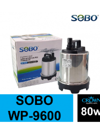 SOBO 80w Stainless Submersible Pump WP-9600