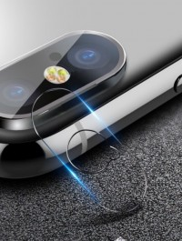 Tempered Glass Camera Lens Protector For iPhone X