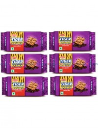 Tiger Krunch Choco chips - 32+8 gm pack of 6