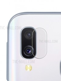 Ultra-thin Full Coverage Tempered Glass Camera Lens Protector for Samsung Galaxy A40