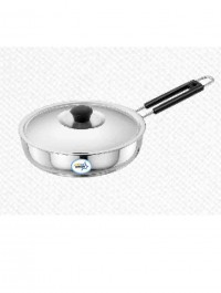 Unirize Polish Fry Pan With Stainless Steel Lid(non-induction)190mm