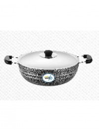 UNIRIZE POWDER COATED SAUCE PAN WITH STAINSLESS STEEL LID