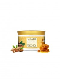 Vaadi Herbals Instant Glow Face Pack, Almond and Honey, 600gm