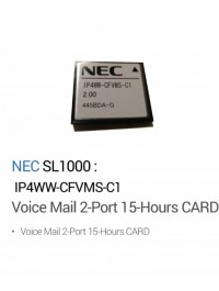 Voice Mail 2-Port 15-Hours CARD