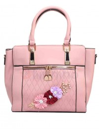 Women PU Leather Small Tote Casual Fashion Designer Ladies Shoulder-Hand Bag