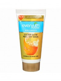 Zydus Everyuth Naturals Advanced Golden Glow Peel Off Mask - 50gm